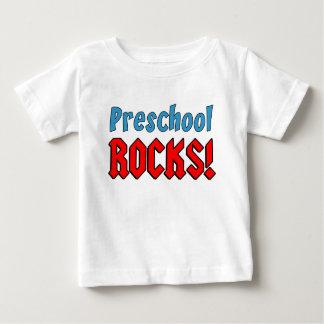 T-shirt Pour Bébé Roches préscolaires