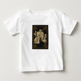 T-shirt Pour Bébé Roi et reine de chemise du pays des merveilles