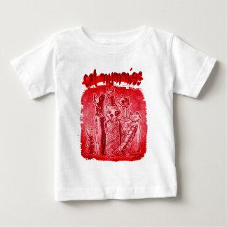 T-shirt Pour Bébé rouge pur de mamans de chat
