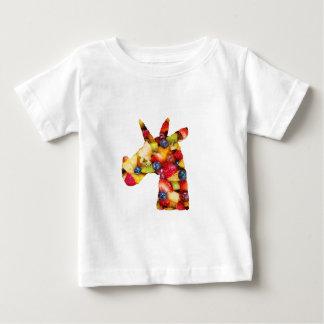 T-shirt Pour Bébé Salade de fruits de licorne