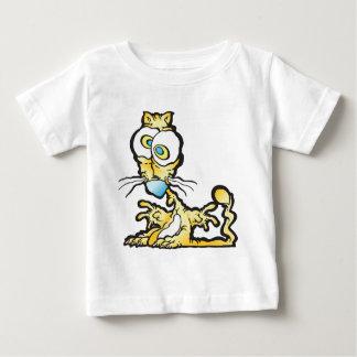 T-shirt Pour Bébé scaredee_cat