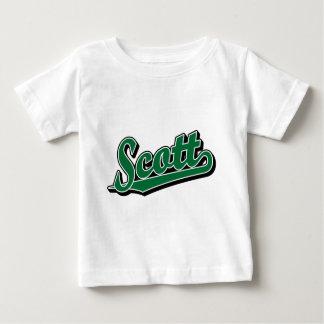 T-shirt Pour Bébé Scott en vert