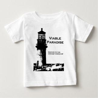 T-shirt Pour Bébé Sélectionnez une couleur - phare viable de paradis