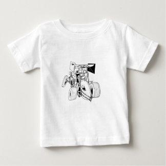 T-shirt Pour Bébé Série rapide de voiture de sprint de sprints