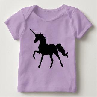 T-shirt Pour Bébé Silhouette de licorne