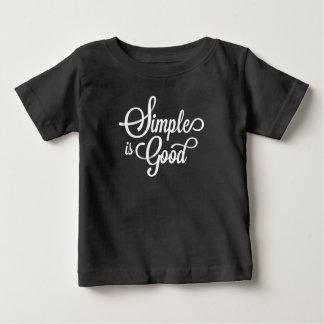 T-shirt Pour Bébé Simple lunatique élégant est bonne chemise de |