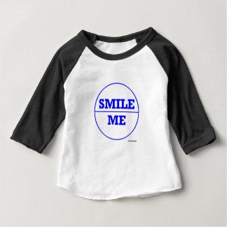 T-SHIRT POUR BÉBÉ SMILE MOI