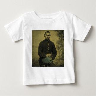 T-shirt Pour Bébé Soldat Tintype des syndicats de guerre civile