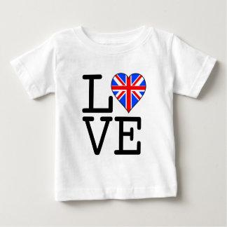 T-shirt Pour Bébé Son amour BRITANNIQUE !