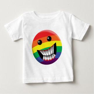 T-shirt Pour Bébé Sourire d'arc-en-ciel