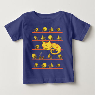 T-shirt Pour Bébé Souris paresseuses mignonnes de chat et de
