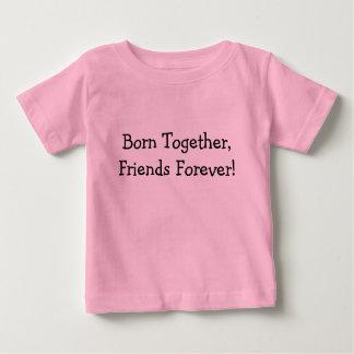 T-shirt Pour Bébé Soutenu ensemble, amis pour toujours !