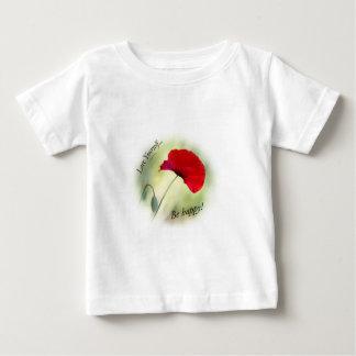 """T-shirt Pour Bébé """"Soyez heureux ! - Amour vous-même… """""""