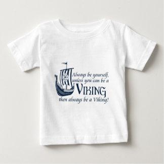 T-shirt Pour Bébé Soyez Viking !