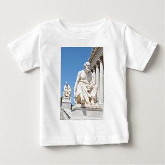 T-shirt Pour Bébé Statue du philosophe grec