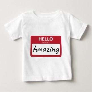 T-shirt Pour Bébé stupéfier 001