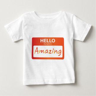 T-shirt Pour Bébé stupéfier 002
