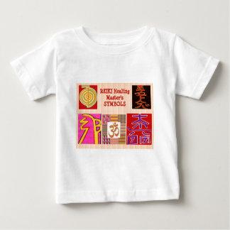 T-shirt Pour Bébé Symboles principaux d'ART curatif de REIKI - par