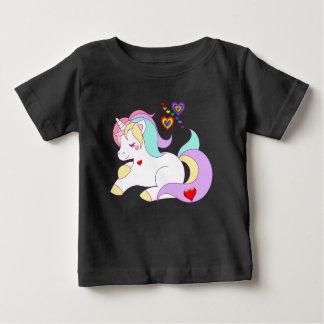 T-shirt Pour Bébé T-shirts, coeurs et licorne de bébé de licorne