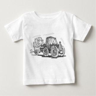 T-shirt Pour Bébé Tee - shirt de tracteur et de remorque