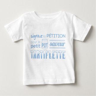T-shirt Pour Bébé Tee shirt pétition