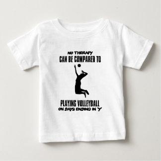 T-shirt Pour Bébé Tendre des conceptions de volleyball
