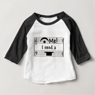 T-shirt Pour Bébé Tenez-moi !  J'ai besoin d'un repos !