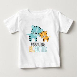 """T-shirt Pour Bébé Tigre mignon """"frère à être """""""