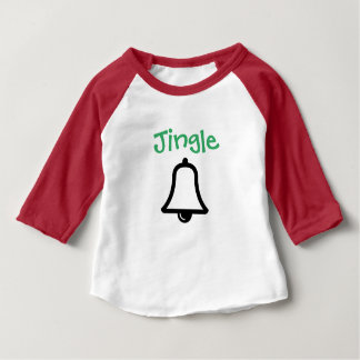 """T-shirt Pour Bébé """"Tintement"""" Bells assortissant la chemise"""