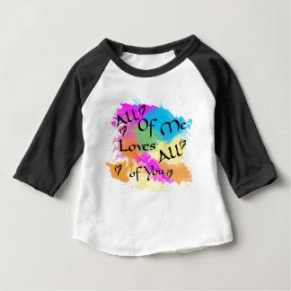 T-shirt Pour Bébé Tout le moi amours tous de vous