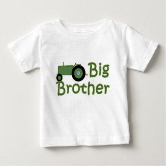 T-shirt Pour Bébé Tracteur de vert de frère