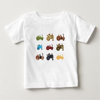 T-shirt Pour Bébé Tracteurs