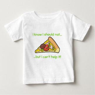 T-shirt Pour Bébé Tranche de pizza