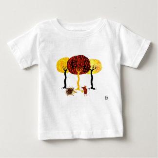 T-shirt Pour Bébé Trees and friends
