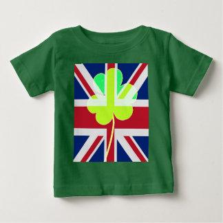 T-shirt Pour Bébé Trèfle britannique irlandais St Patrick R-U de