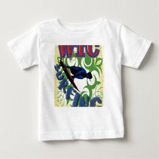 T-shirt Pour Bébé tribal surfant