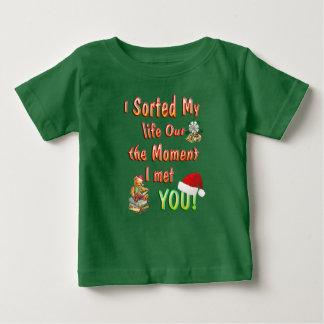 T-shirt Pour Bébé Trier ma vie pour vous