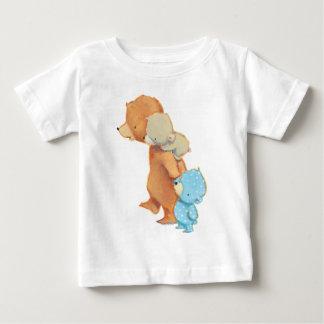 T-shirt Pour Bébé Trois amis adorables d'ours
