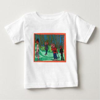 T-shirt Pour Bébé Trou dans un