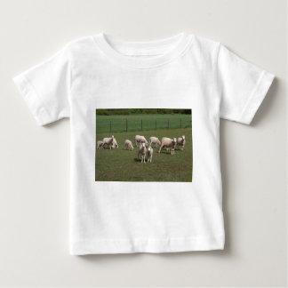 T-shirt Pour Bébé Troupeau de moutons