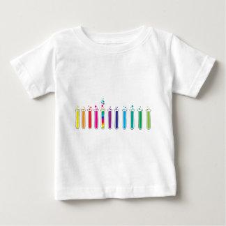 T-shirt Pour Bébé Tubes à essai