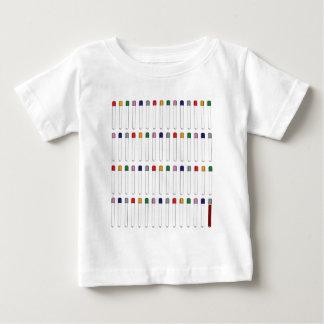 T-shirt Pour Bébé Tubes de Phlebotomy