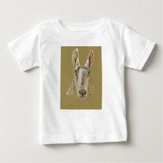 T-shirt Pour Bébé Un portrait d'un mouton