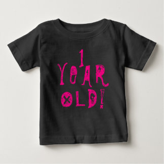 T-shirt Pour Bébé Un rose de roche mignon de crâne de bébé