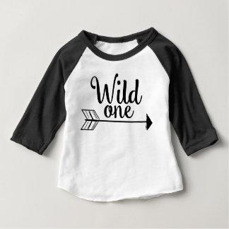 T-shirt Pour Bébé Une ?ère chemise sauvage d'anniversaire de flèche