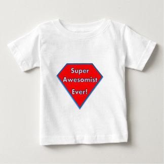 T-shirt Pour Bébé Une prise d'amusement sur des super pouvoir