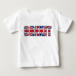 T-shirt Pour Bébé Union Jack Brexit