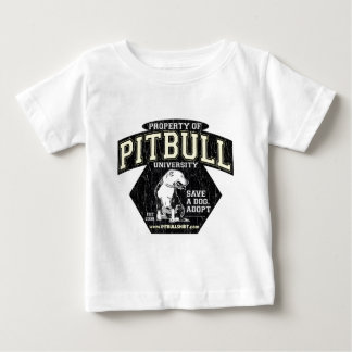 T-shirt Pour Bébé Université de PITBULL