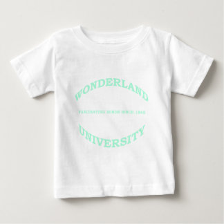T-shirt Pour Bébé Université du pays des merveilles