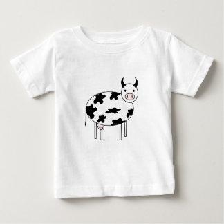 T-shirt Pour Bébé Vache illustrée